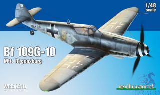 Bf 109G-10 Mtt. Regensburg (Weekend Edition) 1/48 [Eduard]