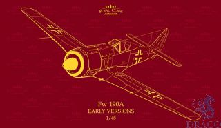 Fw 190A Early versions A-2 A-3 A-4 Dual combo (Royal Class) 1/48 [Eduard]