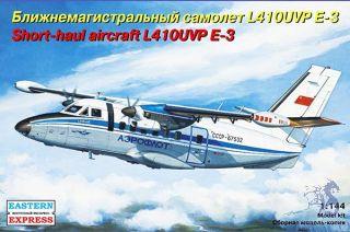 Short-Haul Aircraft L410UVP E-3 1/144 [Eastern Express]