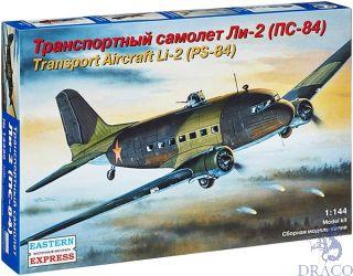 Transport Aircraft Li-2 (PS-84) 1/144 [Eastern Express]