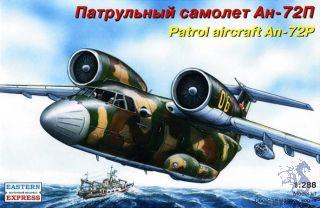 Patrol Aircraft An-72P 1/288 [Eastern Express]