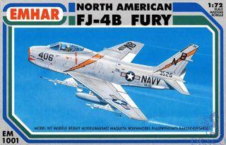 North American FJ-4B Fury 1/72 [Emhar]