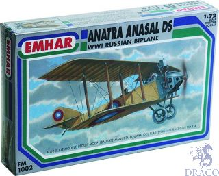 Anatra Anasal DS - WWI Russian Biplane 1/72 [Emhar]