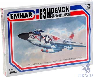 McDonnell F3H-2M / F3H-2N (F-3C) Demon 1/72 [Emhar]