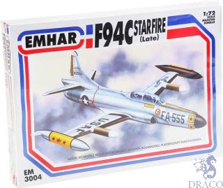 F-94C Starfire, Late Version 1/72 [Emhar]