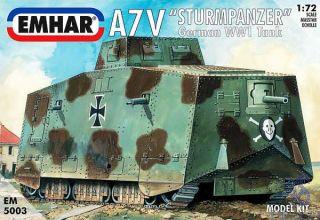 "A7V ""Sturmpanzer"" German WW1 Tank  [Emhar]"