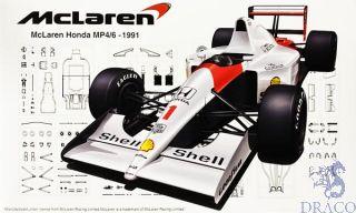 McLaren Honda MP4/6 - 1991 1/20 [Fujimi]