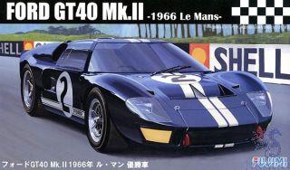 FORD GT40 Mk.II - 1966 Le Mans 1:24 [Fujimi]