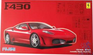 Ferrari F430 + Window Mask 1:24 [Fujimi]