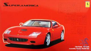 Ferrari Super America (with window mask) 1/24 [Fujimi]