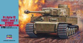 "Pz. Kpfw. VI Tiger I ausf. E ""Hybrid""  [Hasegawa]"