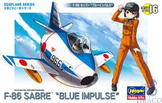 Egg Plane F-86 Sabre Blue Impulse [Hasegawa]