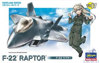 Egg Plane F-22 Raptor [Hasegawa]