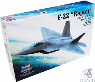F-22A Raptor 1/72 [Hobby Boss]