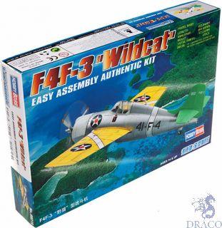 """F4F-3 """"Wildcat"""" 1/72 [Hobby Boss]"""