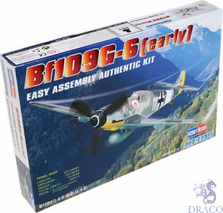 Bf 109 G-6  (Early) 1/72 [Hobby Boss]