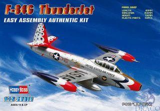 F-84G Thunderbolt 1/72 [Hobby Boss]
