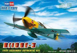 Bf109E-3 1/72 [Hobby Boss]