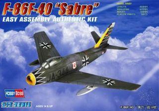 F-96F-40 Sabre 1/72 [Hobby Boss]