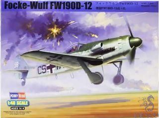 Focke-Wulf Fw 190 D-12 1/48 [Hobby Boss]