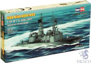 USS Kidd DDG-993 1/1250 [Hobby Boss]