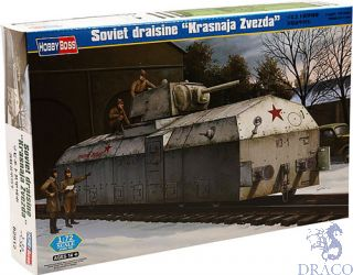 "Soviet draisine ""Krasnaja Zvezda"" 1/72 [Hobby Boss]"