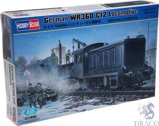 German WR360 C12 Locomotive  [Hobby Boss]