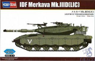 IDF Merkava Mk.IIID (LIC) 1/72 [HobbyBoss]