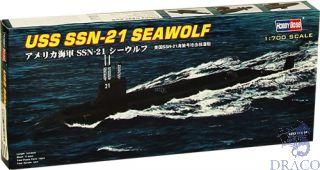 USS SSN-21 Seawolf Attack Submarine 1/700 [Hobby Boss]