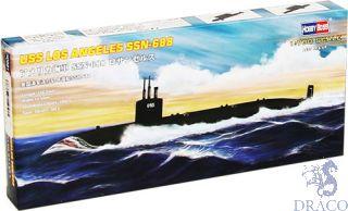 US Navy Los Angeles SSN-688 Submarine 1/700 [Hobby Boss]
