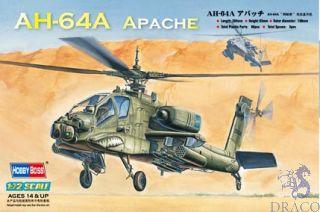 AH-64A Apache 1/72 [HobbyBoss]