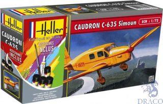 Caudron C-635 Simoun Starter Kit 1/72 [Heller]