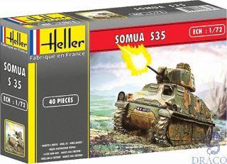 Somua Tank 1/72 [Heller]