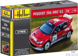 Peugeot 206 WRC'03 1/43 [Heller]