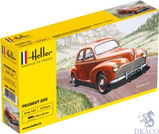 Peugeot 203 1/43 [Heller]