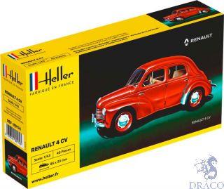 Renault 4 CV 1/43 [Heller]