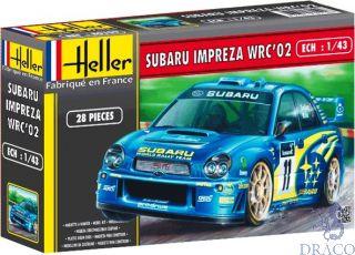 Subaru Impreza WRC'02 1/43 [Heller]
