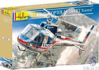 """Eurocopter AS 350  B3 """"Everest"""" 1/72 [Heller]"""