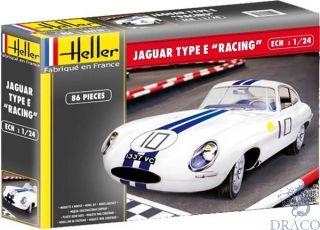 "Jaguar Type E ""Racing"" 1/24 [Heller]"