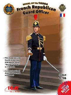 French Republican Guard Officer 1/16 [ICM]