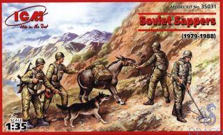 Soviet Sappers (1979-1988) 1/35 [ICM]