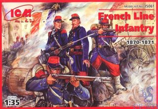 French Line Infantry (1870-1871) 1/35 [ICM]