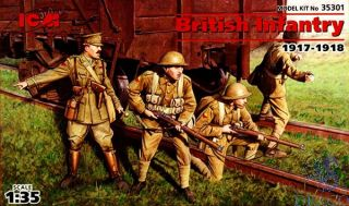British Infantry (1917-1918) 1/35 [ICM]