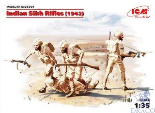Indian Sikh Rifles (1942) 1/35 [ICM]