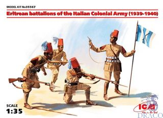 Eritrean battalions of the Italian Colonial Army (1939-1940) 1/35 [ICM]
