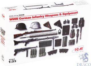 WWII German Infantry Weapons and Equipment 1/35 [ICM]