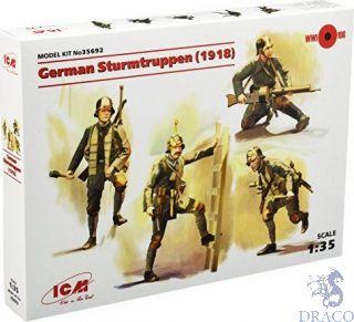 German Sturmtruppen (1918) 1/35 [ICM]