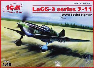 LaGG-3 series 7-11 - WWII Soviet Fighter 1/48 [ICM]