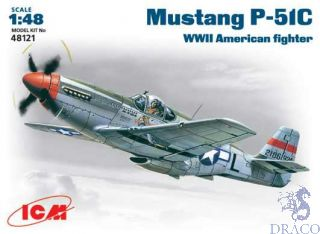 P-51 C Mustang WWII American Fighter 1/48 [ICM]