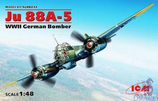 Ju 88A-5 WWII - German Bomber 1/48 [ICM]